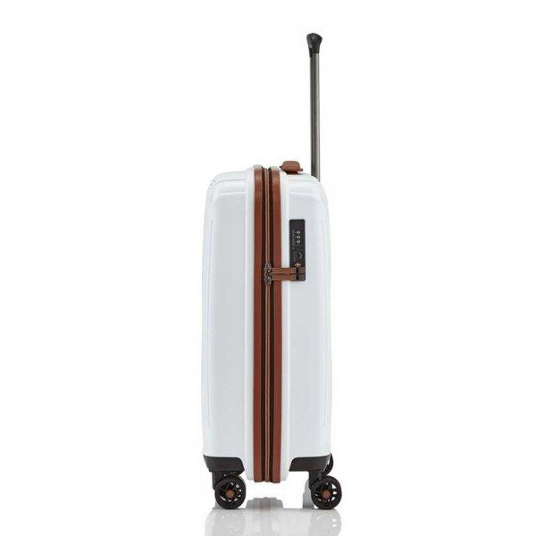 Titan Paradoxx 4 Wiel Trolley S white Harde Koffer van Polypropyleen