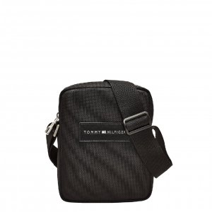 Tommy Hilfiger Men Nylon Mini Reporter black