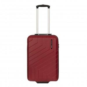 Travelbags Barcelona Handbagage koffer - 55 cm - 2 wielen - chili red Harde Koffer