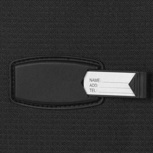 Travelbags Lissabon Handbagage koffer - 55 cm - 2 wielen - black Zachte koffer van Polyester