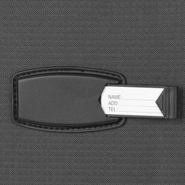 Travelbags Lissabon Kofferset - 3 delig - 55 cm 2 wiel + 67 cm 4 wiel + 77 cm 4 wiel - dark grey van Polyester