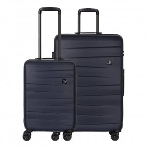 Travelbags Stockholm 2 Delige Trolley Set navy