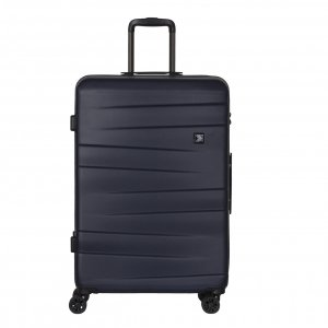 Travelbags Stockholm 4 Wheel Trolley 75 navy Harde Koffer