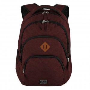 Travelite Basics Backpack Melange bordeaux backpack