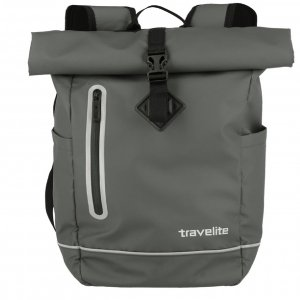 Travelite Basics Roll-Up Backpack anthrazit Rugzak