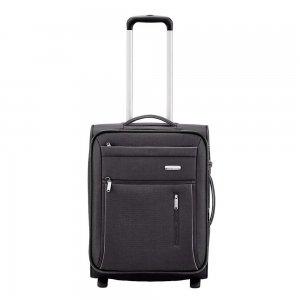 Travelite Capri 2 Wiel Trolley S Expandable black Zachte koffer