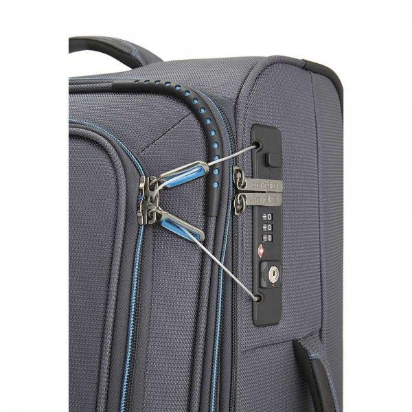 Travelite Crosslite 2 Wiel Trolley S exp anthracite Zachte koffer