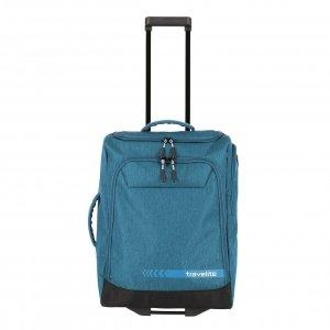 Travelite Kick Off Wheeled Duffle S petrol Handbagage koffer Trolley