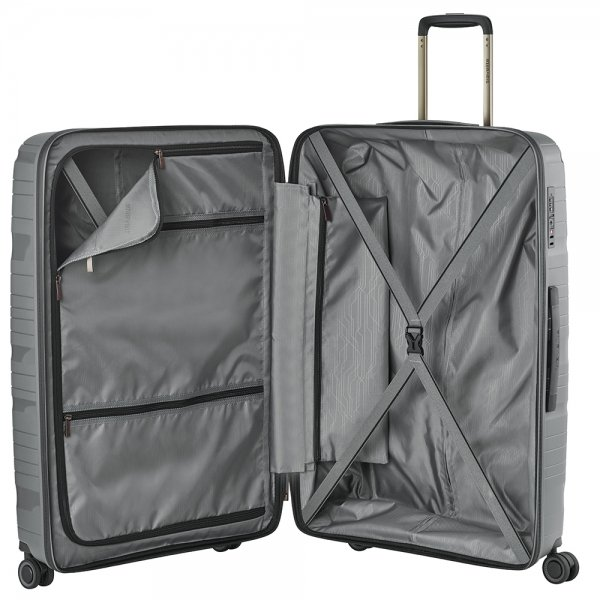 Travelite Motion 4w Trolley L anthracite Harde Koffer