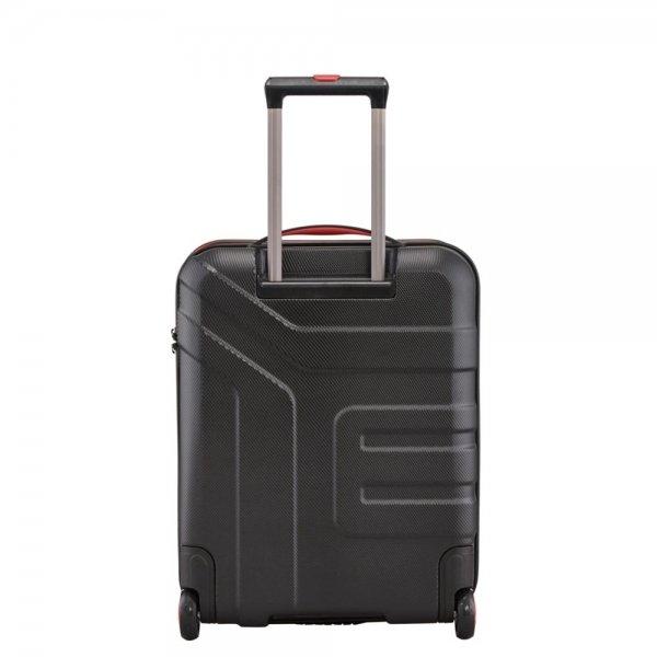 Travelite Vector 2 Wiel Trolley S black Harde Koffer van ABS