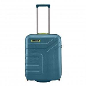 Travelite Vector 2 Wiel Trolley S petrol/lime Harde Koffer