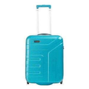 Travelite Vector 2 Wiel Trolley S turquoise Harde Koffer