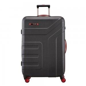 Travelite Vector 4 Wiel Trolley L black Harde Koffer
