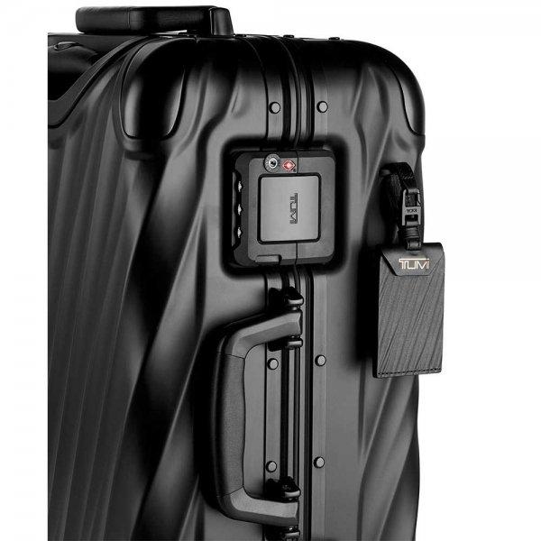Tumi 19 Degree Aluminium Continental Carry-On matte black Harde Koffer van Aluminium