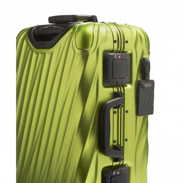 Tumi 19 Degree Aluminium International Carry-On brightlime Harde Koffer van Aluminium