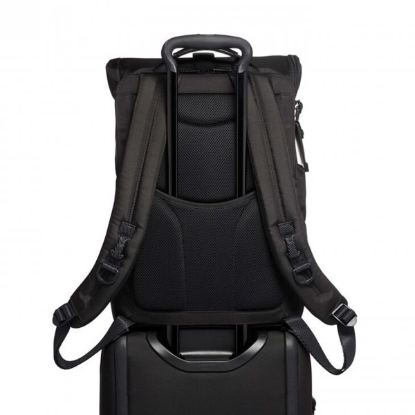 Tumi Alpha Bravo Lance Backpack black backpack van Nylon