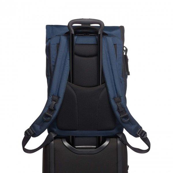Tumi Alpha Bravo Lance Backpack navy backpack van Nylon