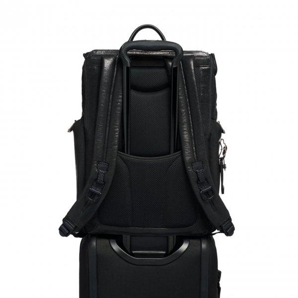 Tumi Alpha Bravo Lark Backpack black backpack van Leer