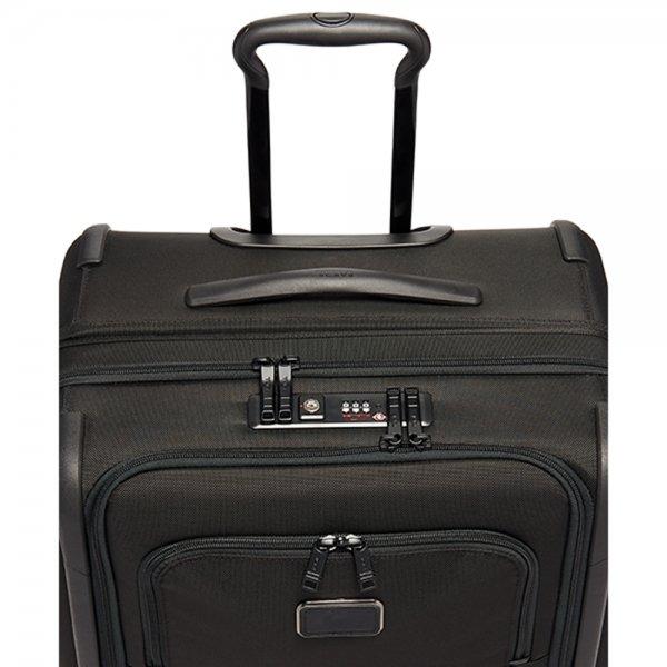 Tumi Alpha Short Trip Expandable black Zachte koffer van Nylon