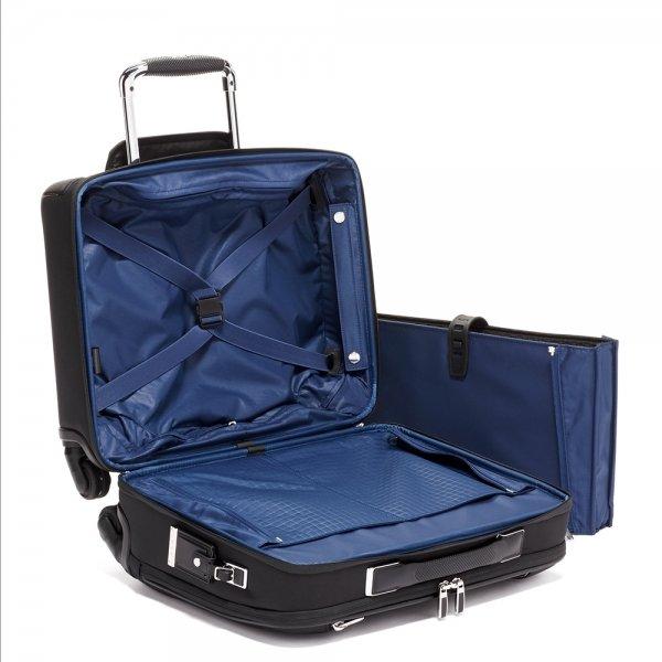 Tumi Arrivé Compact 4 Wheel Briefcase black Pilotenkoffer van Polyester