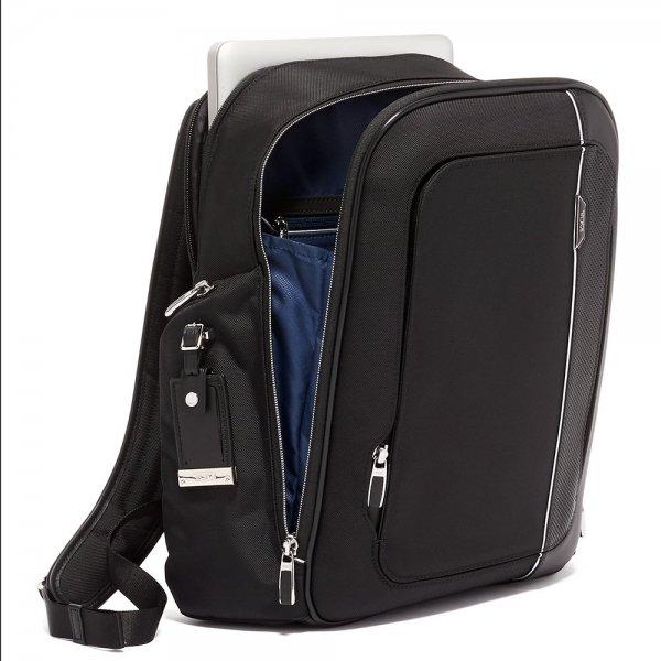 Tumi Arrivé Larson Backpack black2 backpack van Polyester