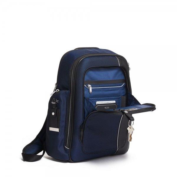 Tumi Arrivé Larson Backpack navy backpack van Polyester