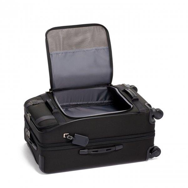 Tumi Merge Expandable 4 Wheeled black Zachte koffer van Nylon