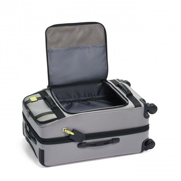 Tumi Merge Expandable 4 Wheeled grey Zachte koffer van Nylon