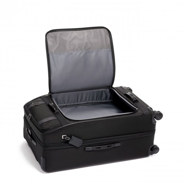 Tumi Merge Extended Trip Expandable Pocket Case black Zachte koffer van Nylon