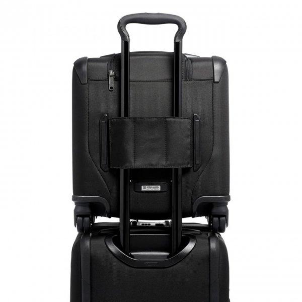 Tumi Merge Small Compact 4 Wheeled Brief black Zachte koffer van Nylon