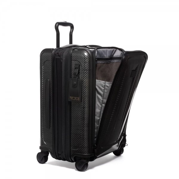 Tumi Tegra-Lite Max Continental Expandable Carry-On black graphite Harde Koffer van Tegris