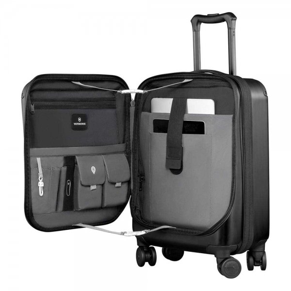 Victorinox Spectra 2.0 Expandable Global Carry-on 55 black Harde Koffer