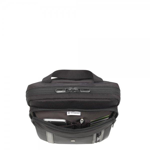 Victorinox Werks Professional 2.0 Crossbody Laptop Bag black van Polyester