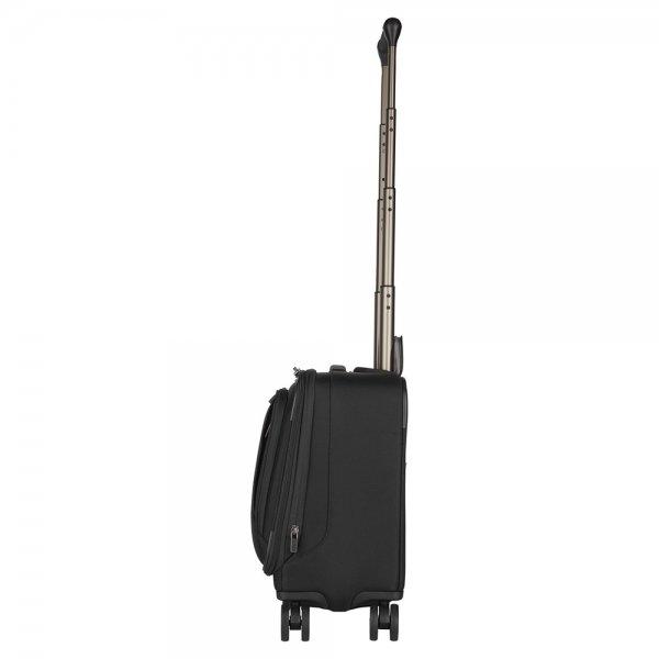 Victorinox Werks Traveler 6.0 Wheeled Boarding Tote black Zakelijke koffer van Nylon