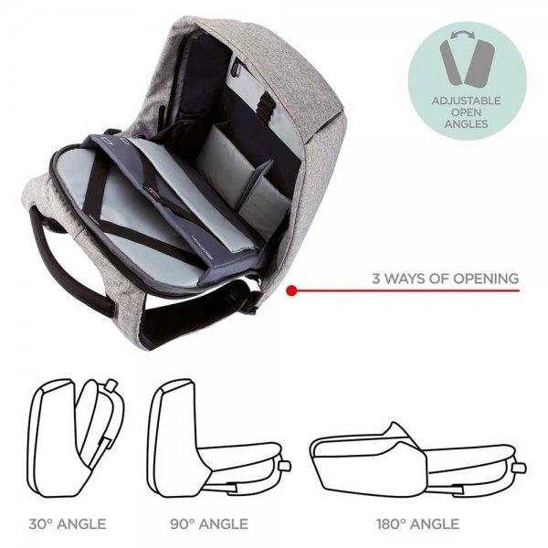 XD Design Bobby Anti-diefstal Rugzak black backpack