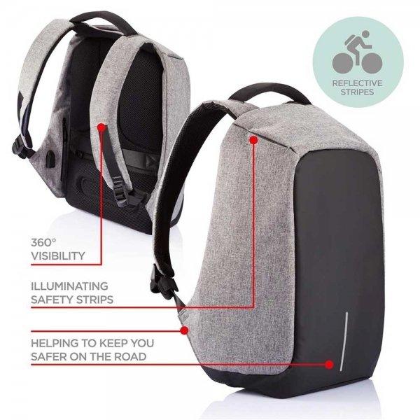 XD Design Bobby Anti-diefstal Rugzak red backpack van Polyester