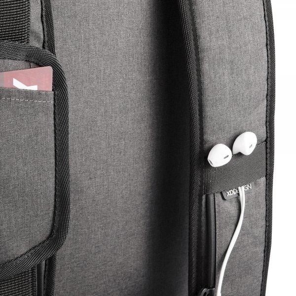 XD Design Bobby Duffle Anti-diefstal Travelbag black backpack van PU