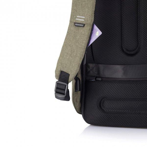 XD Design Bobby Hero Regular Anti-diefstal Rugzak green backpack van Polyester
