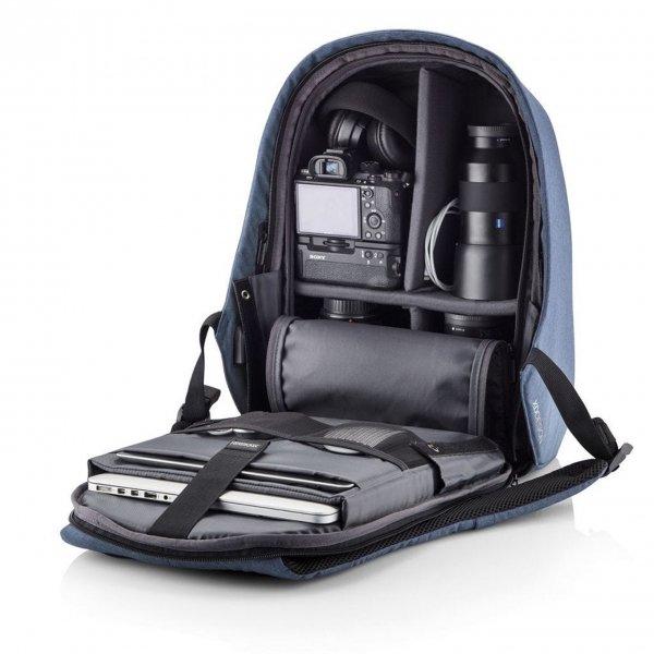 XD Design Bobby Hero Regular Anti-diefstal Rugzak light blue backpack