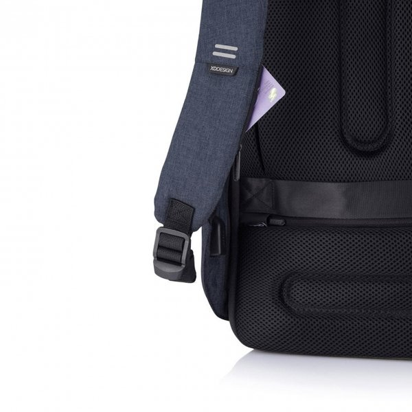 XD Design Bobby Hero Regular Anti-diefstal Rugzak navy backpack van Polyester
