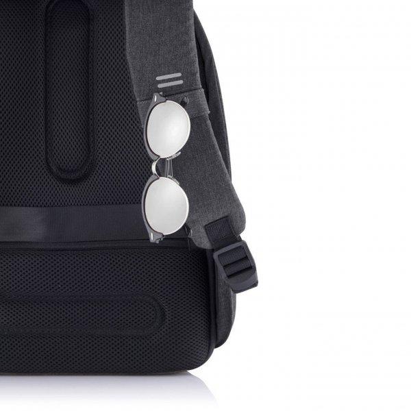 XD Design Bobby Hero Small Anti-diefstal Rugzak black backpack van Polyester