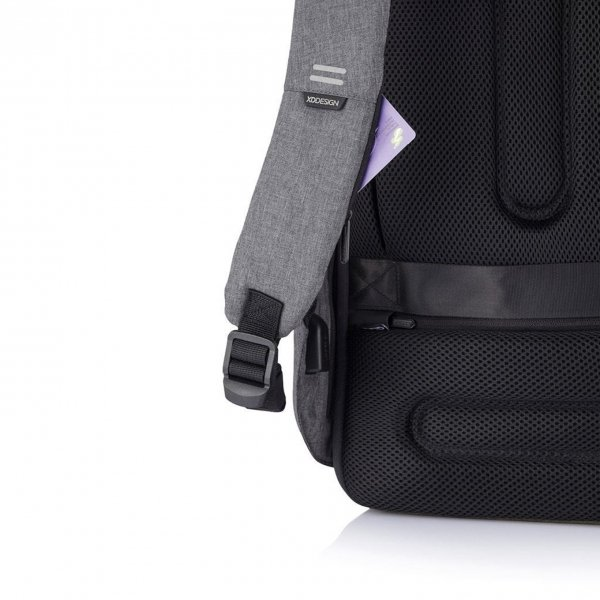 XD Design Bobby Hero Small Anti-diefstal Rugzak grey backpack