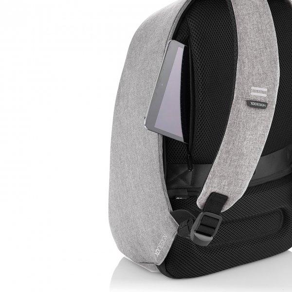 XD Design Bobby Pro Anti-diefstal Rugzak grey van