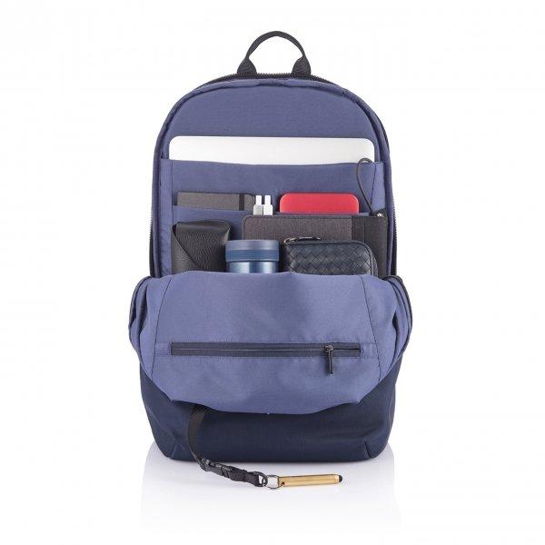 XD Design Bobby Soft Anti-Diefstal Rugzak navy backpack van Polyester