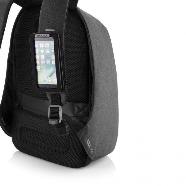 XD Design Bobby Tech Anti-Diefstal Rugzak black backpack van Polyester