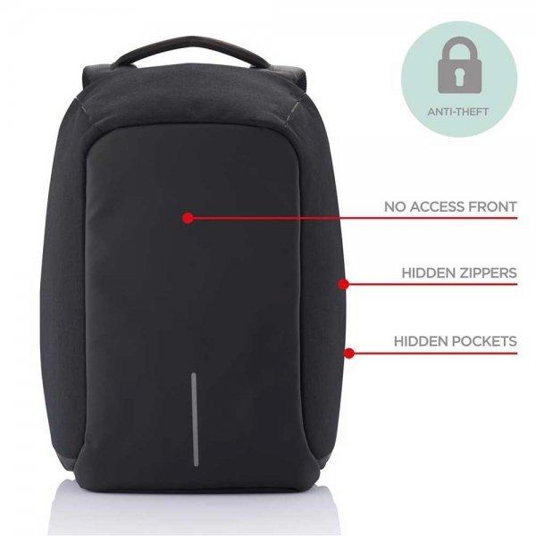 XD Design Bobby XL Anti-diefstal Rugzak black backpack