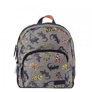 Zebra Trends Boys Rugzak Salamander brown Kindertas