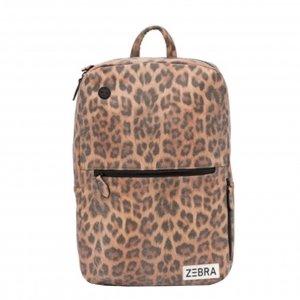 Zebra Trends Girls Rugzak L leo camel pink