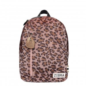 Zebra Trends Girls Rugzak M Soft Leo pink