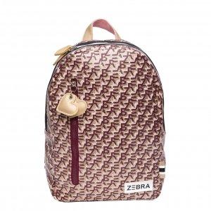 Zebra Trends Girls Rugzak M Zebra Printing pink